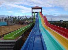 What is the difference between a water slide and a general slide